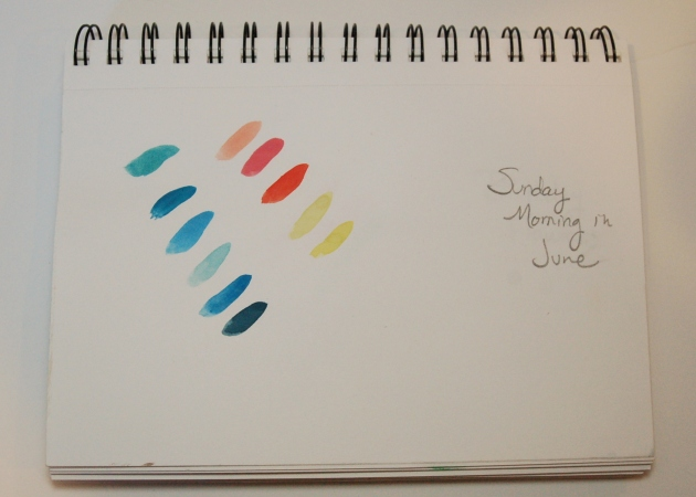 Sunday Morning in June Palette