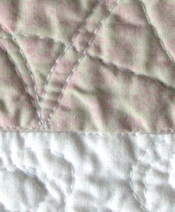 Baby Elephant Quilt close up 2