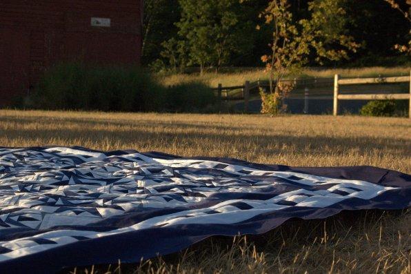Lap Ryan's Quilt Sunset