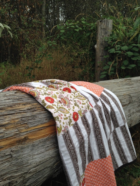 Laurel and Pine Fall Quilt