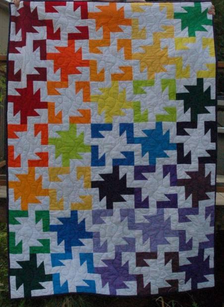 Rainbow Sparkler Quilt