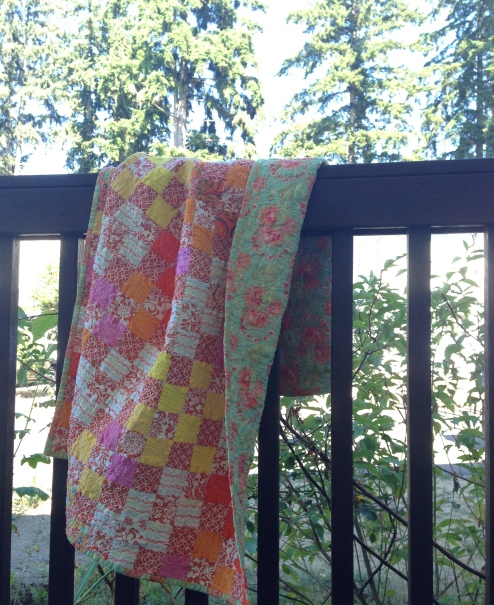 Creamsicle Quilt