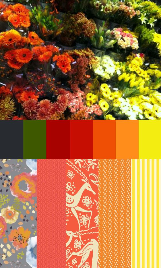 Flowers at Metropolitan Market Bundle and Palette