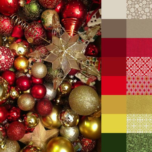 Christmas Ornaments Palette and Bundle 1