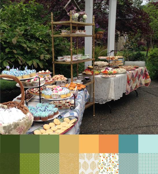 Garden Tea Party Palette and Bundle