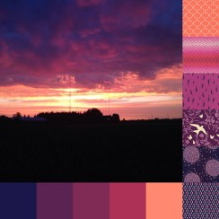 Sunset Near Cathcart Palette and Bundle