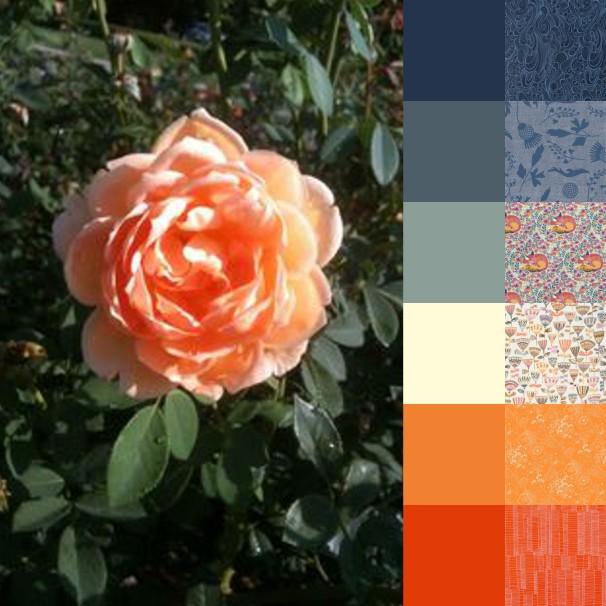 Tulsa Rose Garden Palette and Bundle