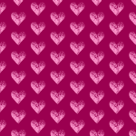 Two-toned Magenta Hearts