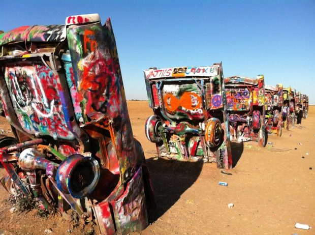 Cadillac Ranch by Sarah of 123 Quilt